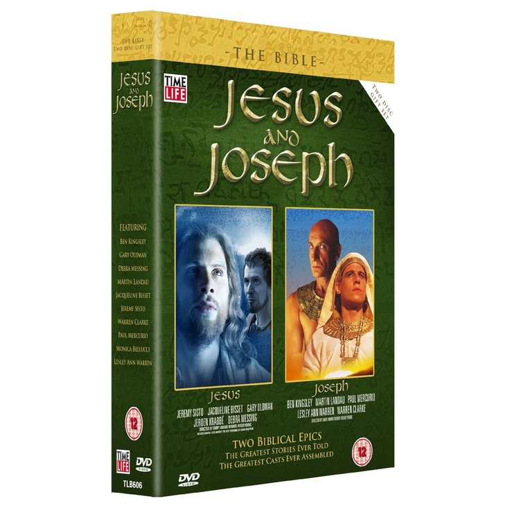"""""""Bible - Jesus And Joseph, The Easter Gift Set"""" DVD - Click picture for details"""