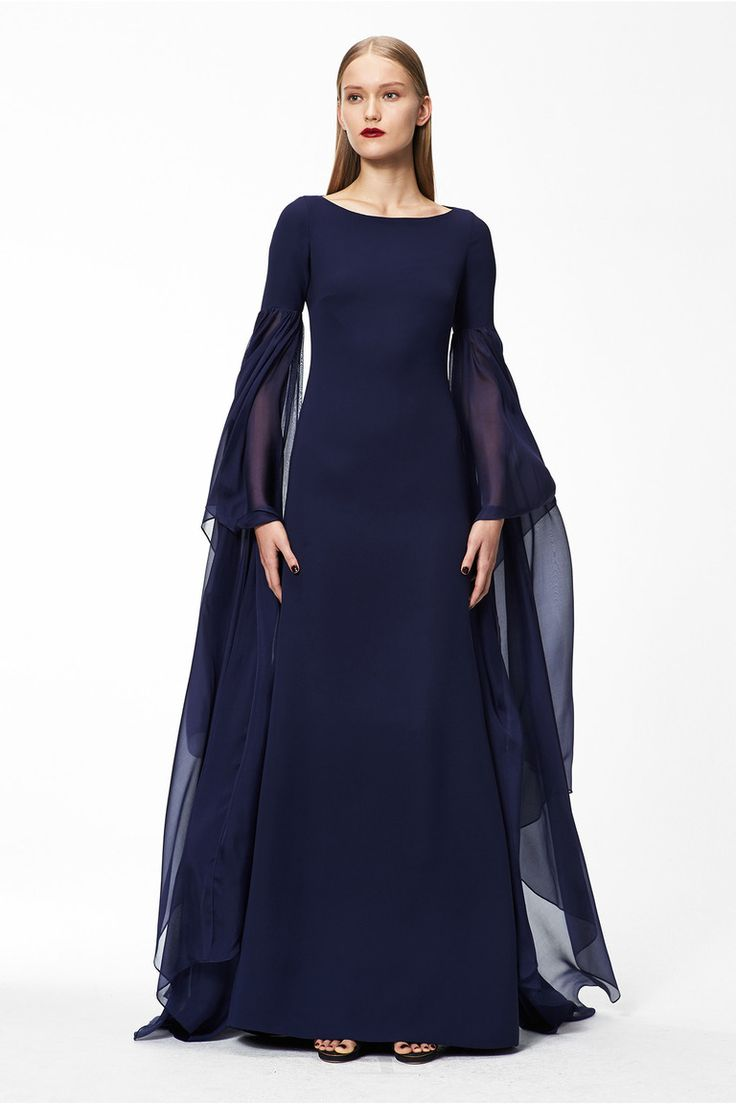 """game-of-style: """"Catelyn Stark - Monique Lhuillier Pre-fall 2015-16 """""""