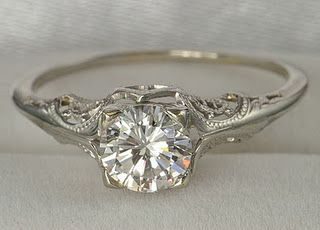 I will get married and this is going to be my vintage wedding ring.