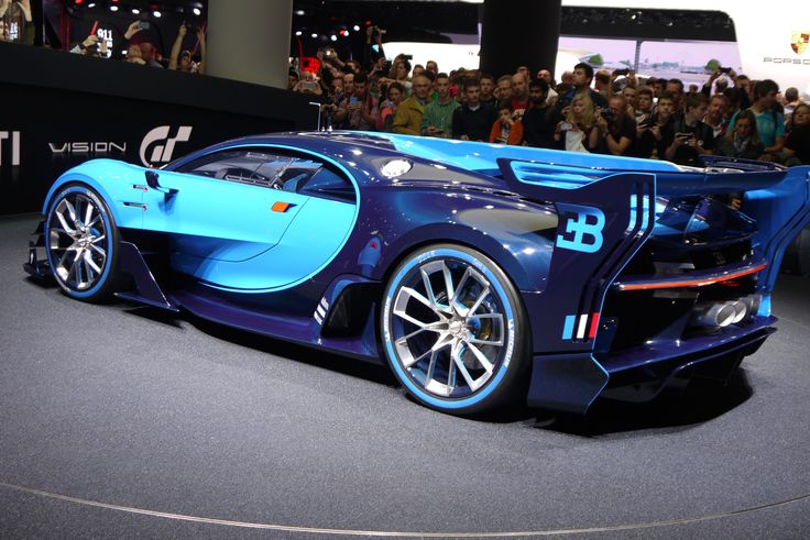 #Bugatti #Vision #Gran-Turismo #IAA2015