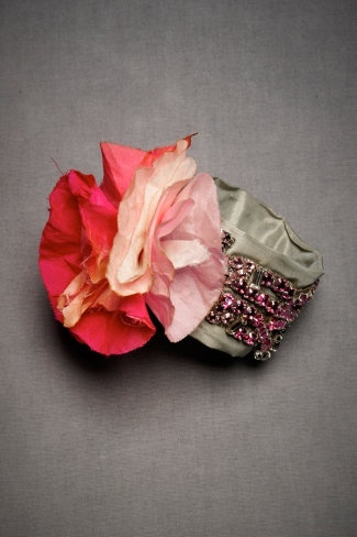 Cute flower cuff...i'm in luv with these fun accessories!!! this was handmade in India!!