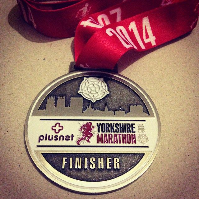 Article on my blog called 'What the 2014 Yorkshire Marathon meant to me.' - RichLord.co.uk