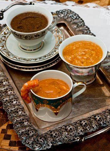 Casa e Jardim - Casa e Comida - NOTÍCIAS - Caldinho de feijoada, caldinho de camarão e caldinho de peixe