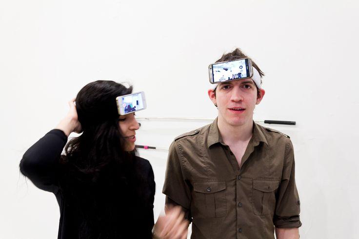 Aram Bartholl - POV (Point of View) Headband - datenform.de