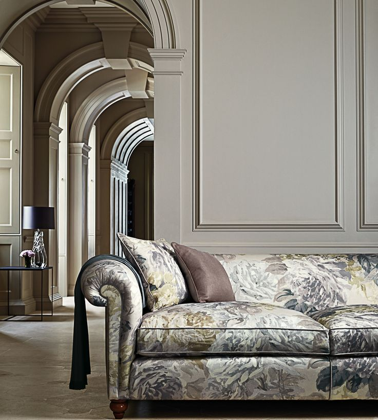 Interior Design Trend, Painterly Florals   Rose Absolute Fabric by Zoffany   Jane Clayton