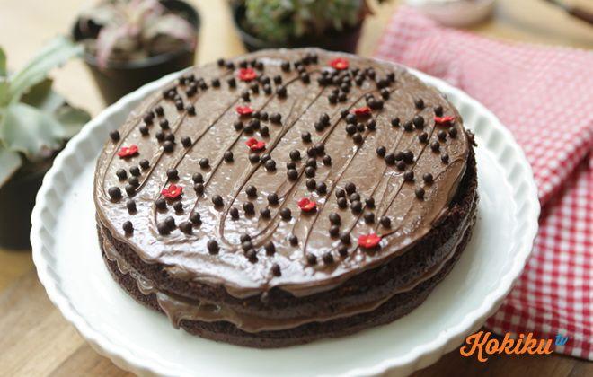 Resep Nutella Cake | Kokiku.tv