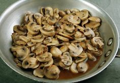Steak and Ale Sauteed Mushrooms. Popular Restaurant Recipes you can make at Home: Copykat.com.