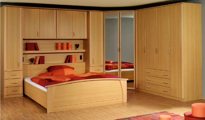 Rauch Overbed Unit And Wardrobes Including Bedframe Bedrooms Fitted Wardrobes And Wardrobe Design