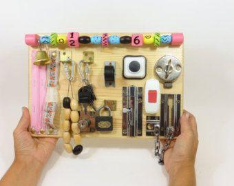 Regalo di compleanno giocattolo di legno bordo di LinearaHandMade