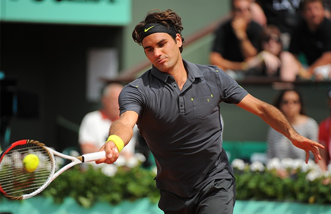 Roger sets new all time record of 234 Grand Slam matches won - 30 May 2012