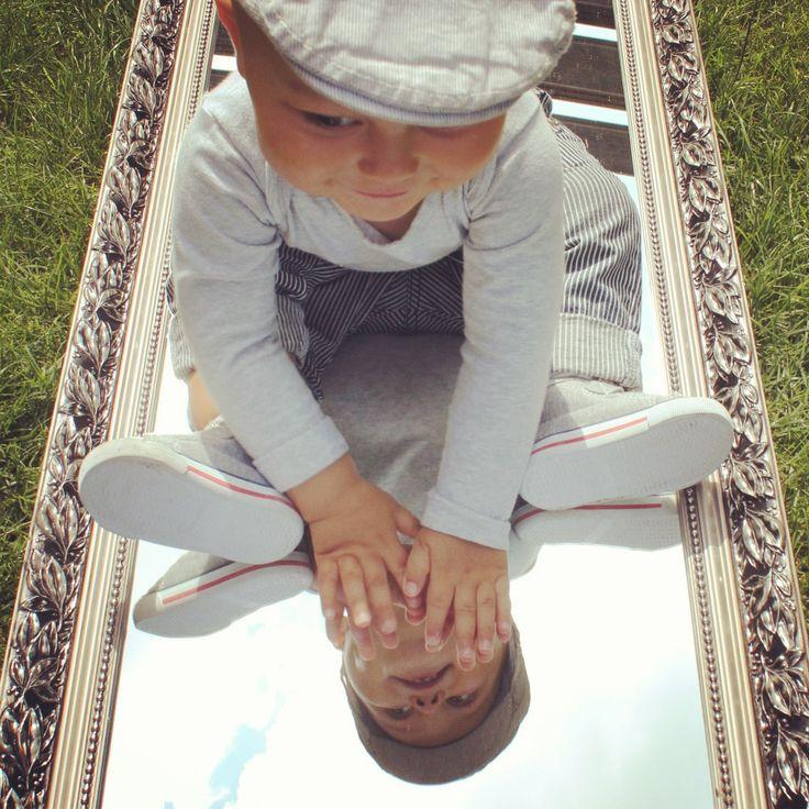 Spiegel tuin foto baby mirror garden
