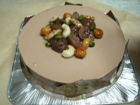「マロンとチョコのムースケーキ」Mari | お菓子・パンのレシピや作り方【corecle*コレクル】
