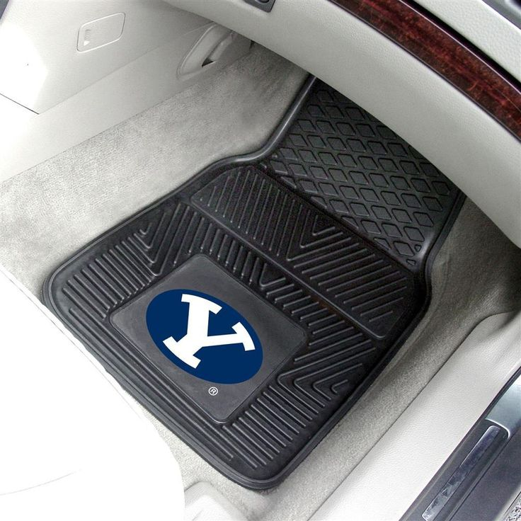 BYU Brigham Young University All Weather Rubber Auto Car Mats