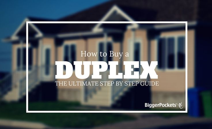 Ever wondered if you should buy that first duplex, but didn't know where to start? This Ultimate Guide walks you through everything that you need to know to make it happen. http://www.biggerpockets.com/renewsblog/2014/07/19/how-to-buy-a-duplex/