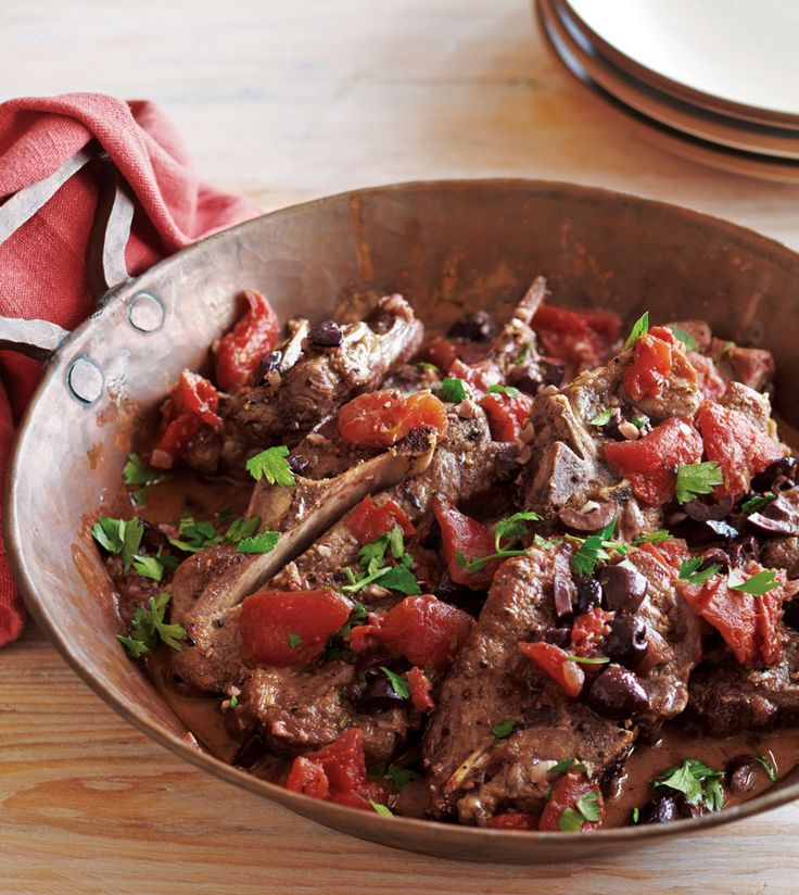 Braised Lamb Shoulder Chops with Tomatoes & Rosemary | Williams-Sonoma Taste
