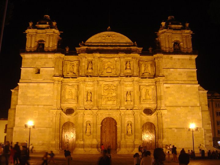 Catedral de Oaxaca.