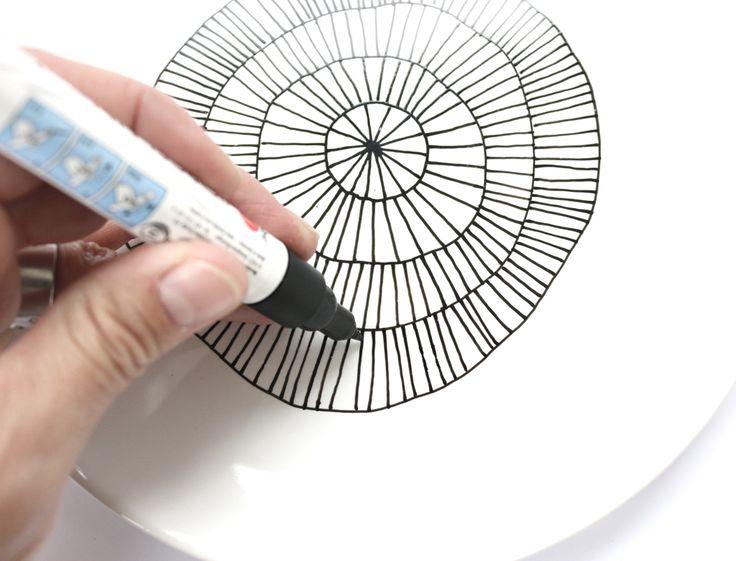 DIY Porzellan malen so gehts
