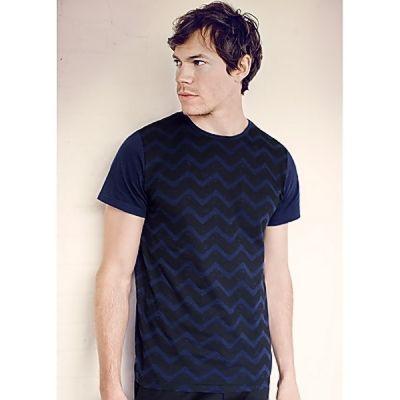 Sicksack t-shirt herr   LotusEco eko&reko kläder