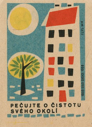 matchbox label: Books Covers, Kitchens Design, Covers Books, Czechoslovakian Matchbox, Graphics Design, Matchboxlabel, Matchbox Labels, Design Kitchens, Modern Kitchens