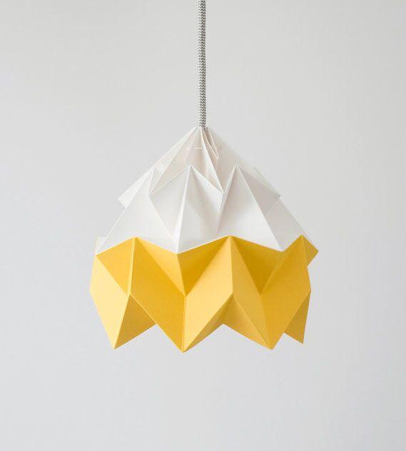 Moth - Origami Lamp