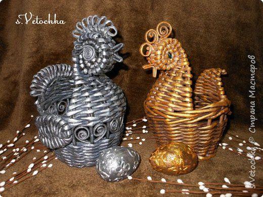 Золотая и серебряная курочки.