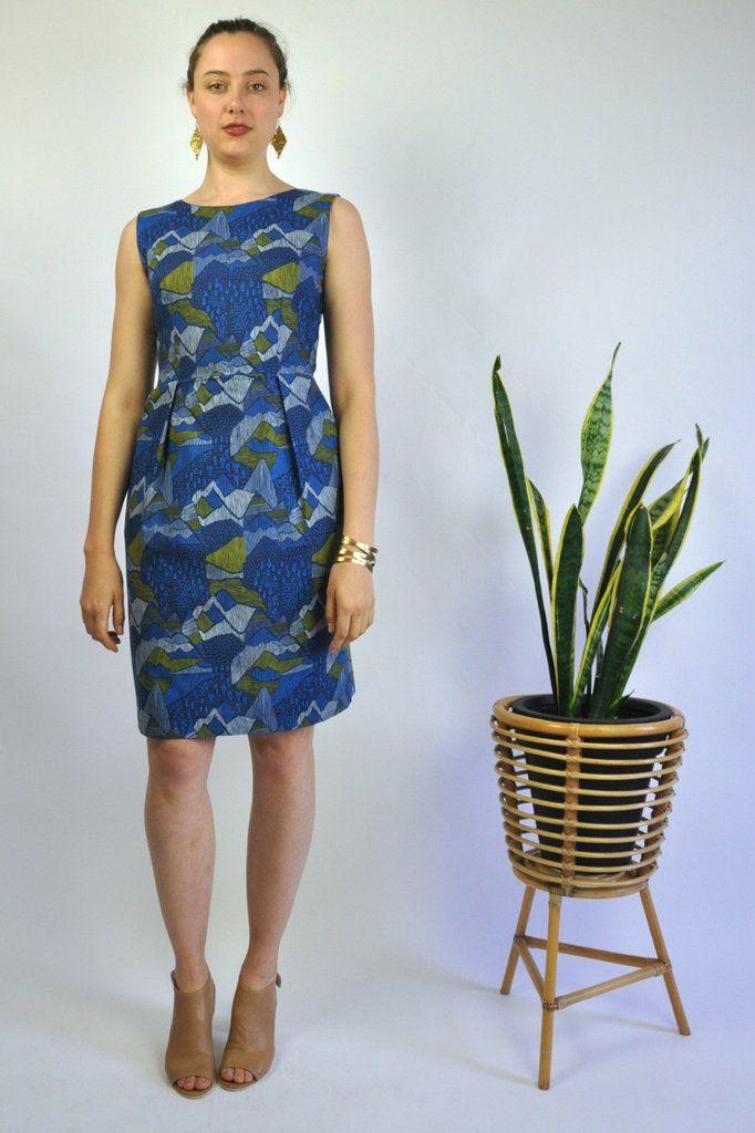 Blue Mountains Pocket Dress