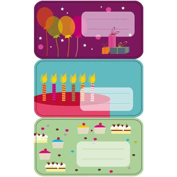 """Comprar 3 Hojas Etiquetas Regalo """" Globos """" Apli 11607  #regalo #casa #colores #colegio #school #infantil #niños #dibujos #etiquetas"""