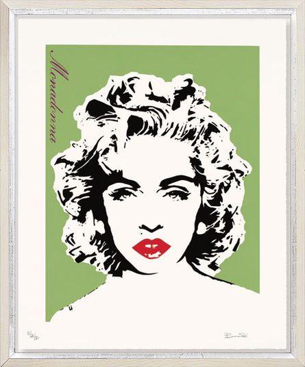 """Bambi, """"Madonna (hellgrün)"""", 2013 http://www.kunsthaus-artes.de/de/780934.R1/Bild-Monadonna-hellgruen-2013/780934.R1.html#q=bambi&start=2"""