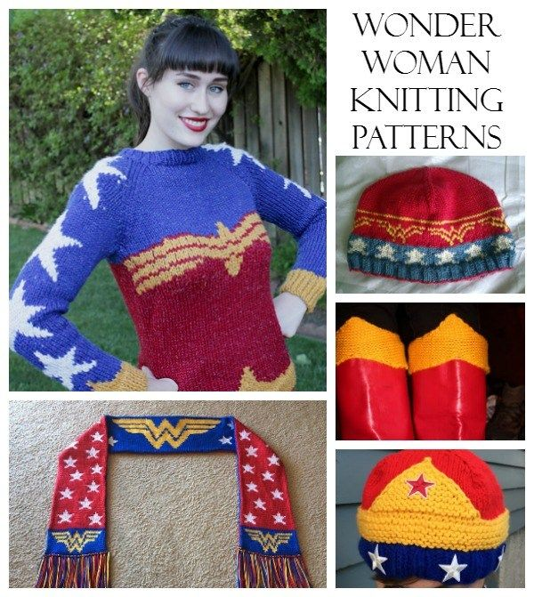 Knits for the Wonder Woman in your life