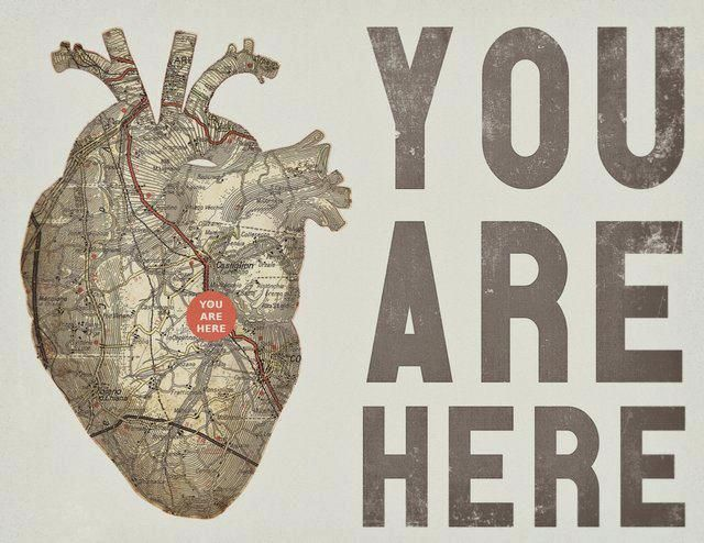 YOU ARE HERE....all of you.