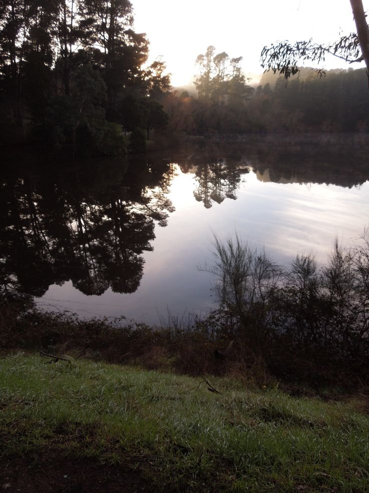 walking the lake