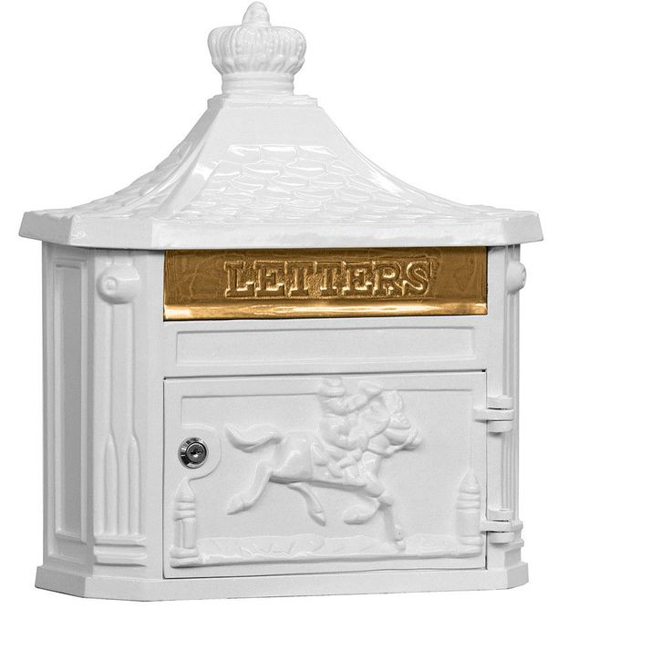 Salsbury Industries Victorian Wall Mounted Residential Mailbox