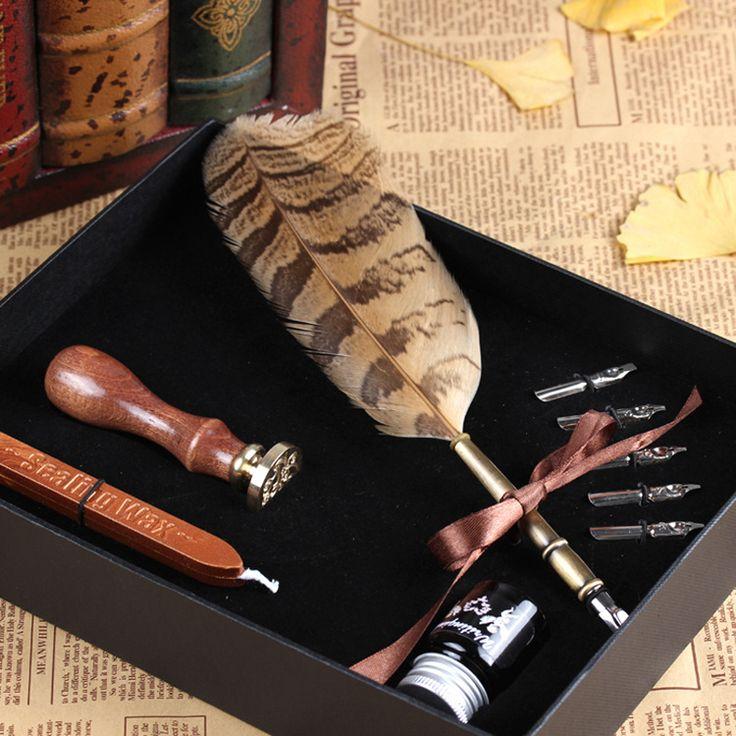 Pen Goose Quill Feather - Genuine Antique/Vintage Pen tips YM07