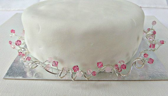 Cake decoration Wedding cake decorationCake vine by AllthingsBAB