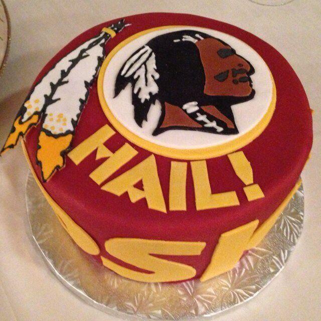 redskin cakes | Parties, Redskins Football, Cookies Cake, Cake Ideas, Redskins Cakes ...