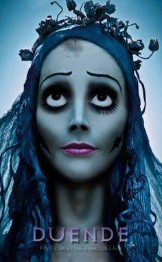 corpse bride makeup - Google Search                                                                                                                                                                                 More
