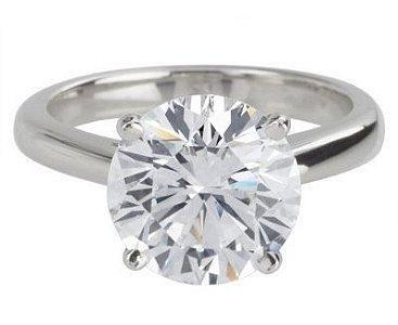 big diamond wedding rings | Big Diamond Platinum Engagement Rings