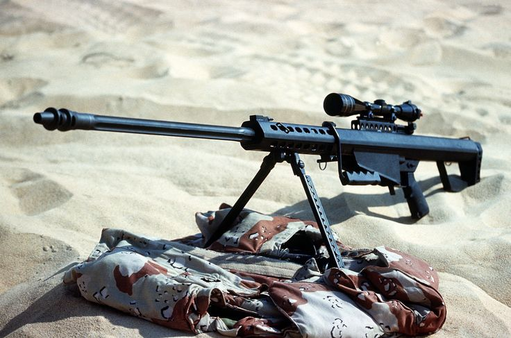 Tennessee Declares the Massive .50 Cal Barrett M82 Rifle Its Official State Firearm