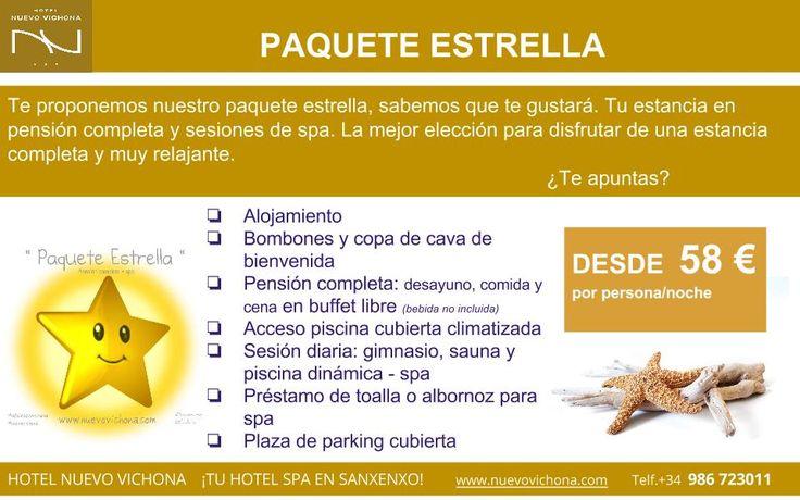 HOTEL NUEVO VICHONA. Hotel Spa en Sanxenxo - Galicia