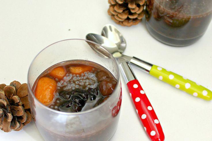Black bean sweet soup