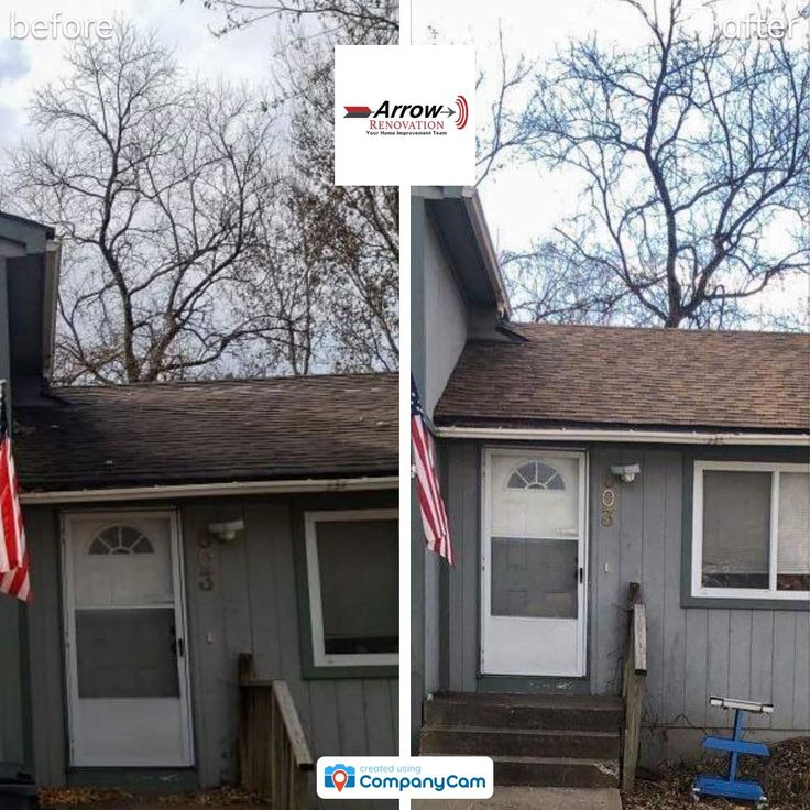 Best Arrow S Home Improvement Crew Installed A Roof With Desert 640 x 480