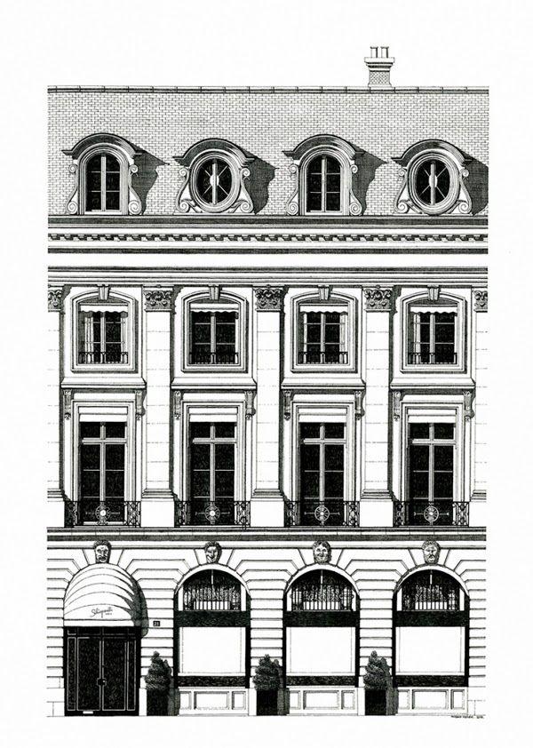 la cuisine du graphiste: L'architecture urbaine par Thibaud Hérem