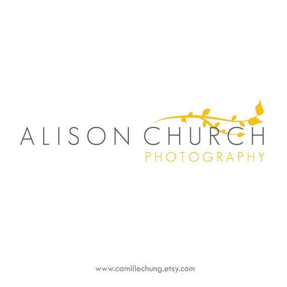 Logo Design for Alison Church Photography by Camille Chung