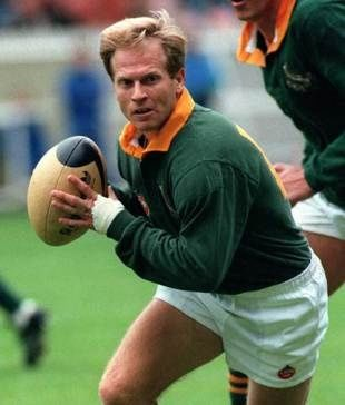 Famous South Africans - Naas Botha in the old days. BelAfrique - Your Personal Travel Planner - www.belafrique.com