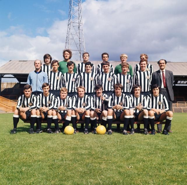 Newcastle United 1970