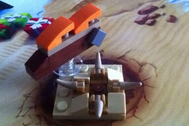 Microscale Jabba's Sail Barge & Sarlacc Pitt (Lego Star Wars Advent Calendar 2015 | Day 1 + 2)