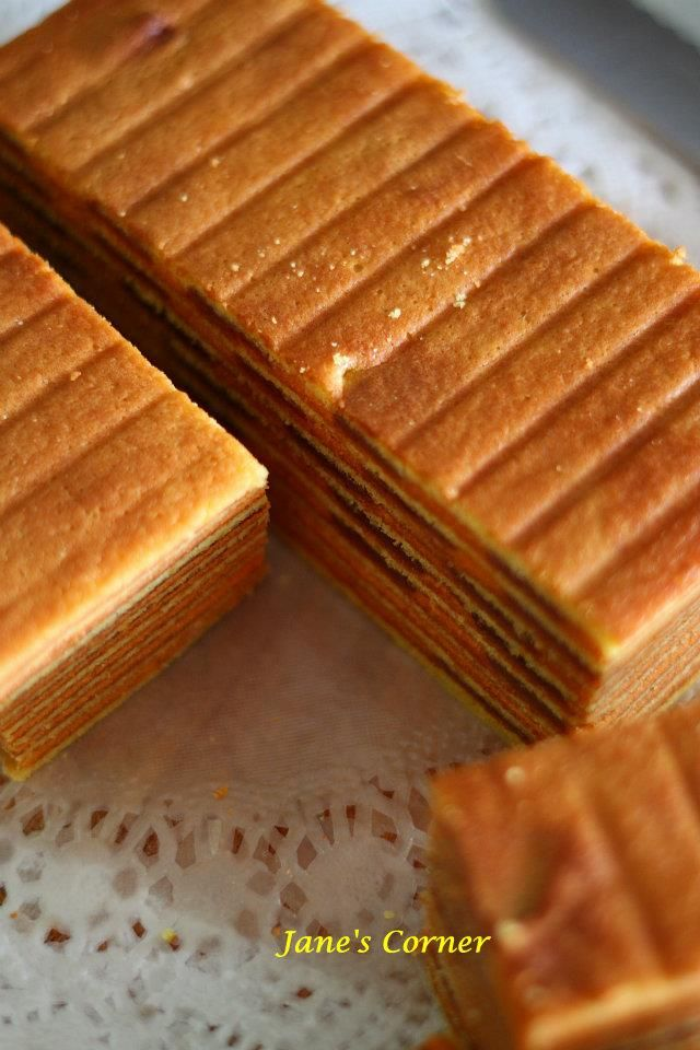 Orange HawFlakes Cake Lapis
