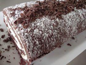 Himmelske kager: Chokolade roulade med passionsfrugt creme