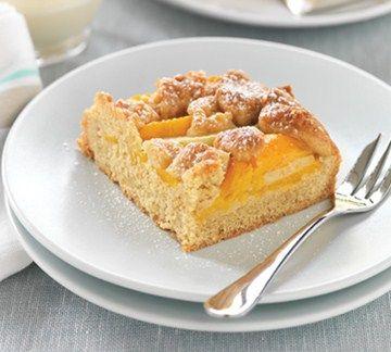 Peach and Apple Shortcake