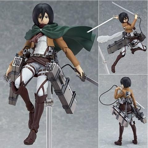 "Attack On Titan Mikasa Anime Figure On Sale + FREE SHIPPING Click ""Add To Cart"" To Get Yours! Size: 15 cm Please allow 7-14 business days for the item to arrive"
